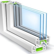 Reduce heat flow through windows