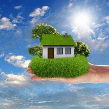 building energy efficient home