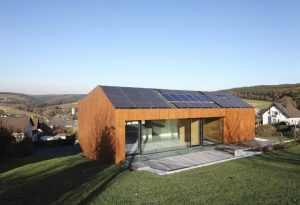 energy efficient wooden homes
