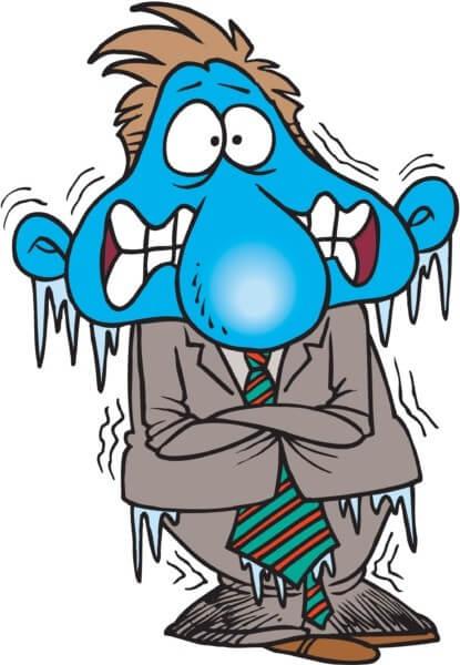 fix a freezing cold home