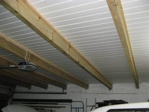 Isoboard exposed beams R-value