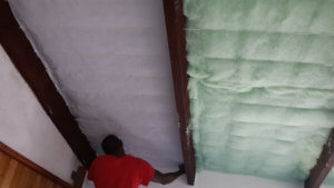 Garage roof insulation