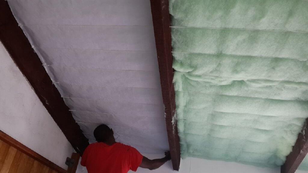 Garage Roof insulation