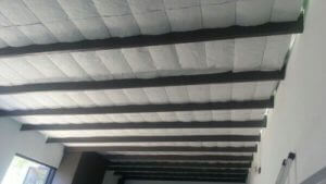 installing insulation for garage roof