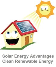 Solar Energy Advantages are clean renewable energy