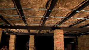 knauf ecose insulation fitted under floors