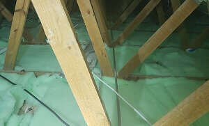 Isotherm Roof Insulation Installed