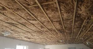 Knauf Ecose Roof Insulation Installed
