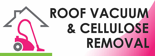 Roof Vacuum and Cellulose Removal