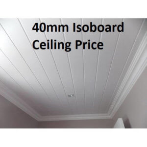 40mm Isoboard Price