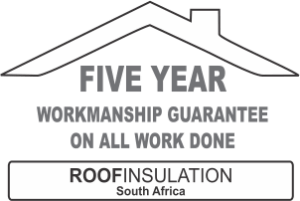 5 year workmanship guarantee