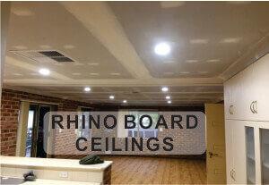 Rhino Board Ceilings