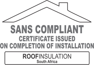 SANS compliant certificate issued on all completed installations