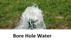 borehole water