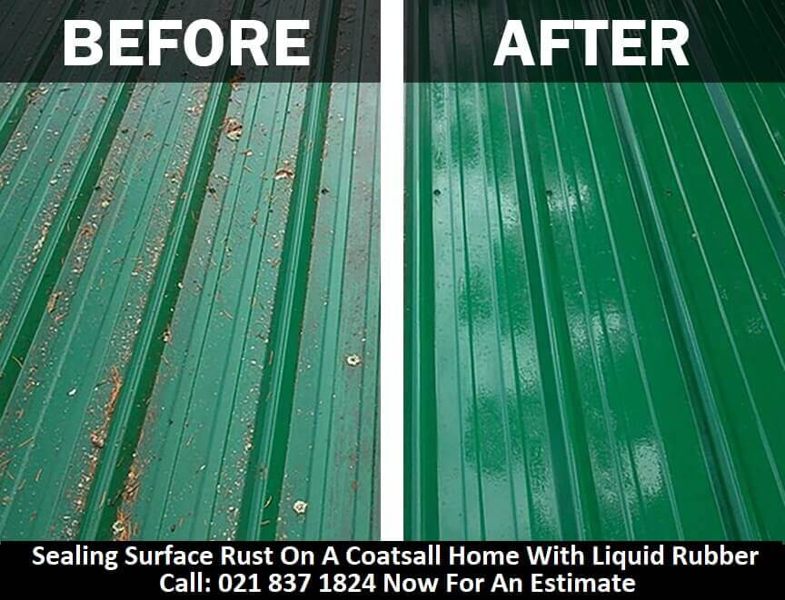 Before And After WaterProofing Roofs