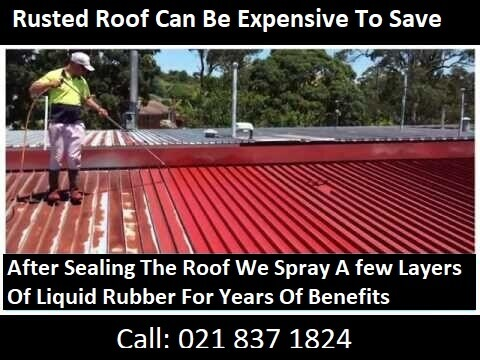 Sealing Ruster Roofs Giving Years Of Protection Against