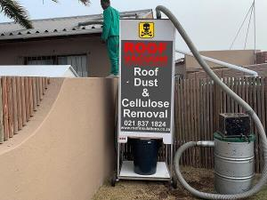 Roof Dust and Cellulose Removal