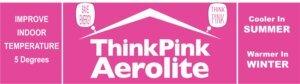 Think Pink Aerolite Insulation Banner