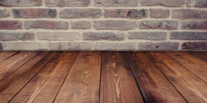 A floor and a wall underfloor insulation options