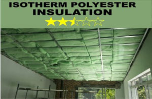 2.5 Star Isotherm ceiling Insulation